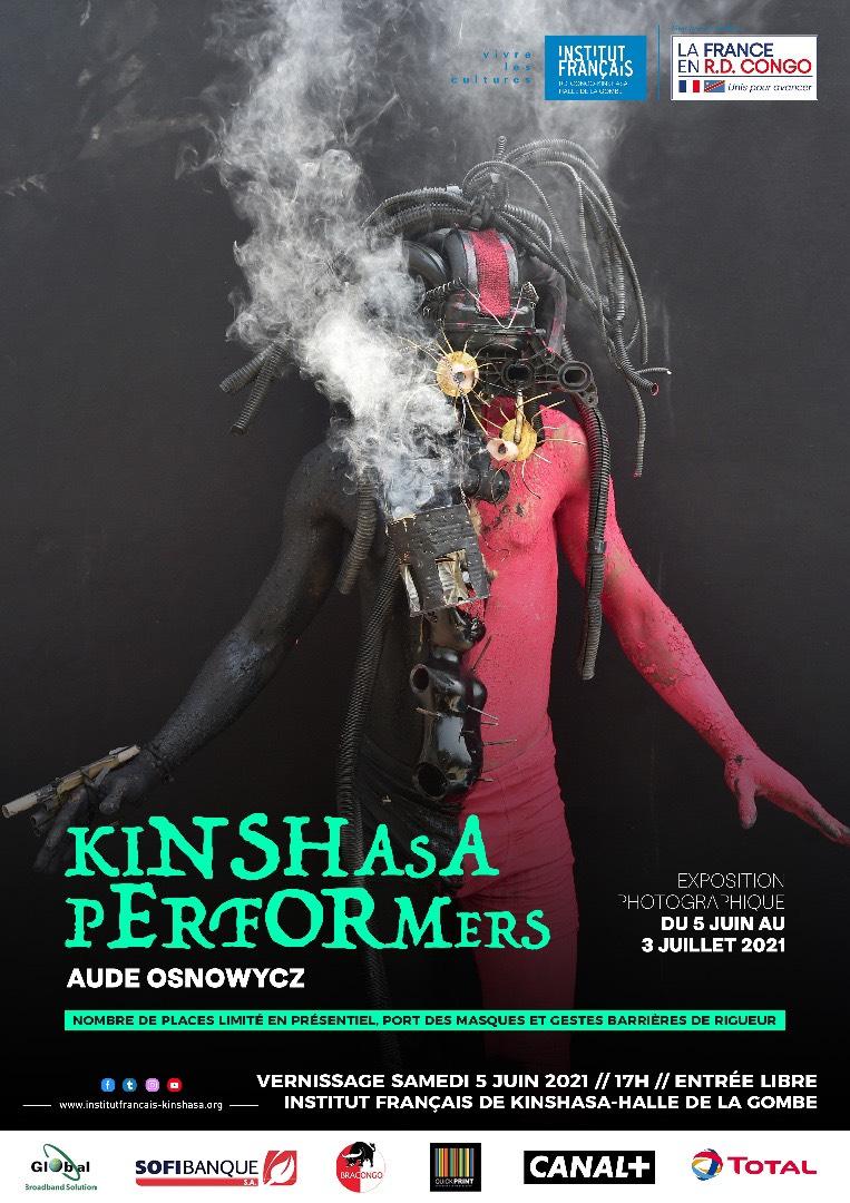 KINSHASA PERFORMERS,  AUDE OSNOWYCZ