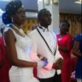 Heureux mariage entre Fernand Beya et Nadege Onger