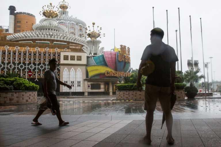 Menacé par le typhon Mangkhut, Macao arrête de jouer