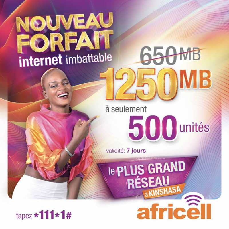 Nouvelle offre Internet Africell