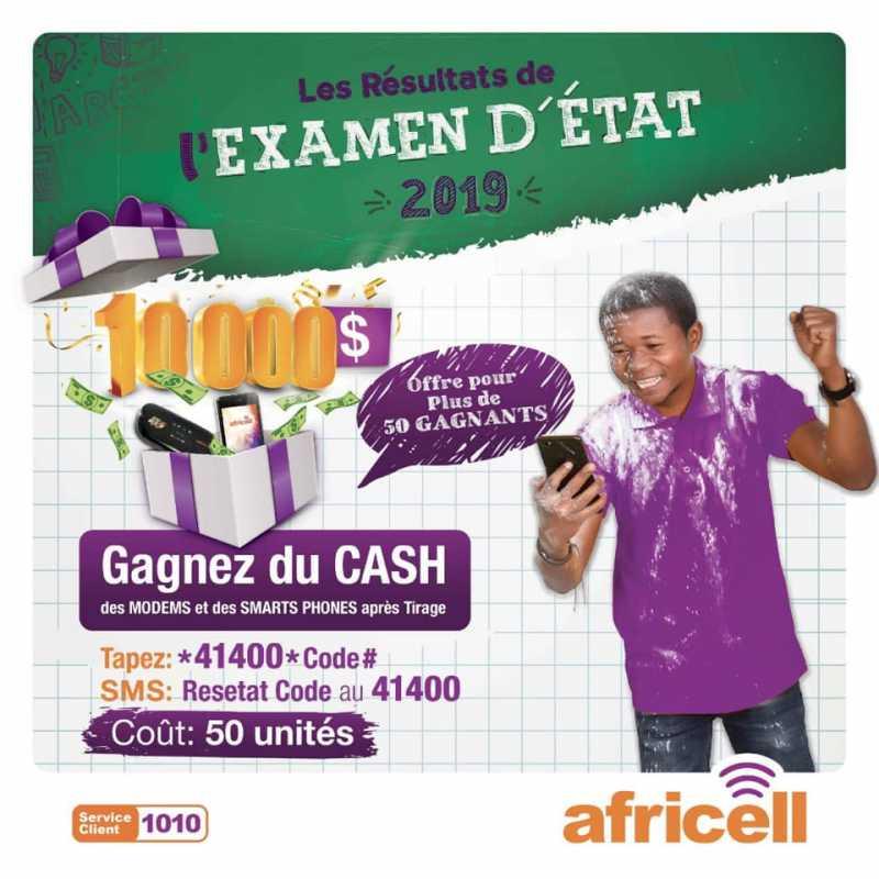 Africell EXETAT 2019