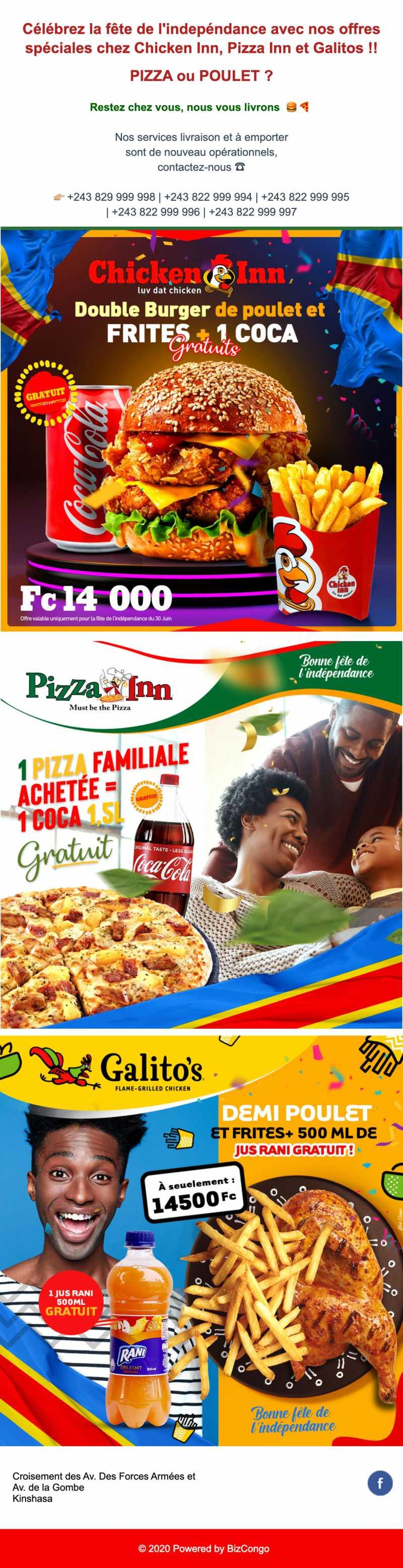 FOOD COURT Kinshasa