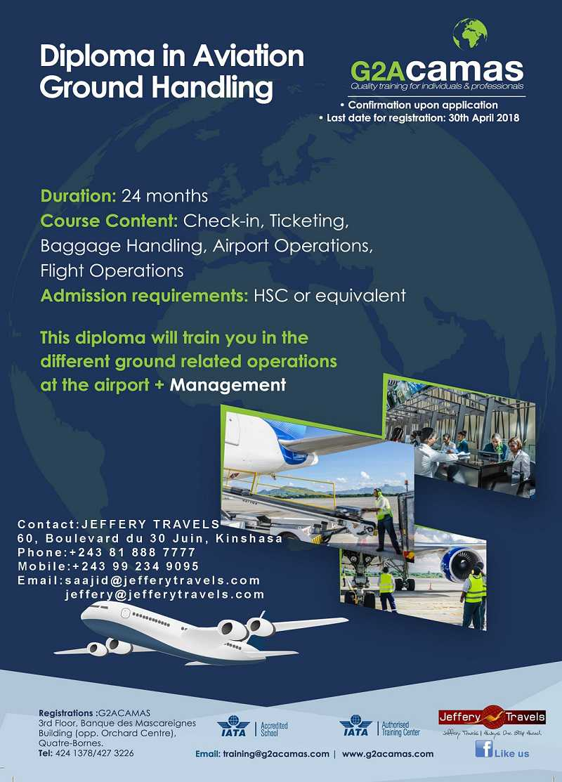 Diploma In Aviation Ground Handling